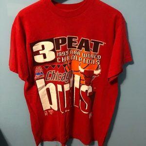 1993 Chicago Bulls 3-Peat Shirt